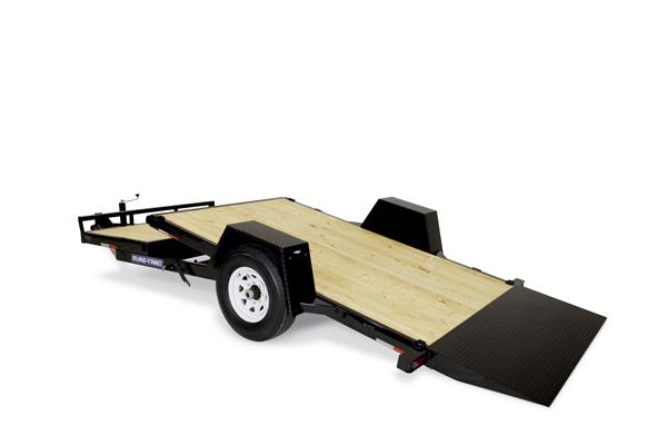 2020 Sure-Trac 6.5x12+4 7.8K Single Axle Tilt Equipment Trailer
