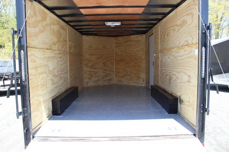 2018 Lark 8x16 Enclosed Cargo Trailer [BLACK-OUT]