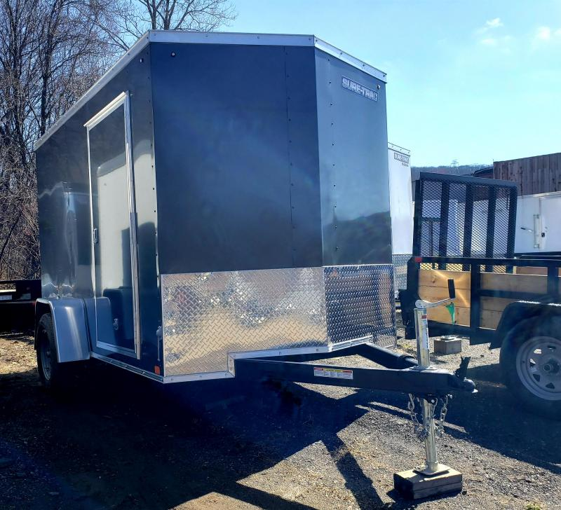 2020 Sure-Trac 6x10 ST Series Wedge Front Enclosed Cargo Trailer