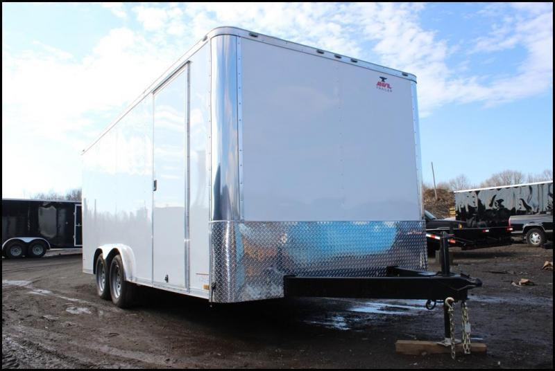 2020 Anvil 8x16 Enclosed Cargo Trailer