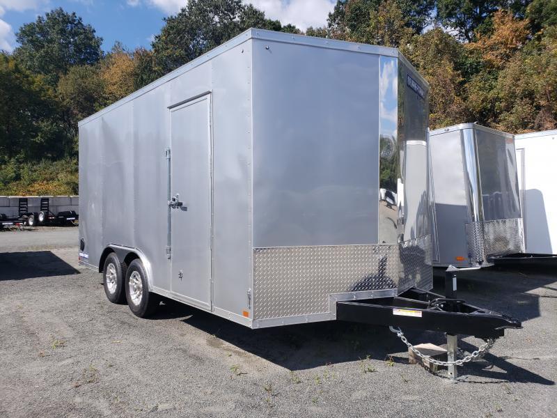 2020 Sure-Trac 8.5x16 10K Pro Series Wedge Front Enclosed Car Hauler Trailer