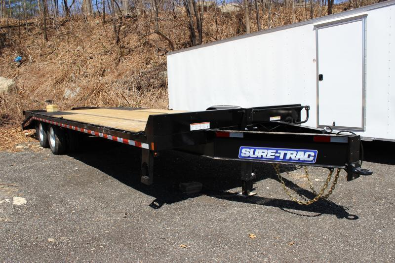 2019 Sure-Trac 8.5x20+5 26K Beavertrail Deckover Equipment Trailer