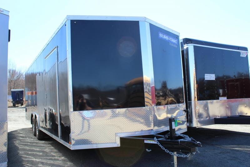 2020 Sure-Trac 8.5x24 10K Pro Series Wedge Front Car Hauler