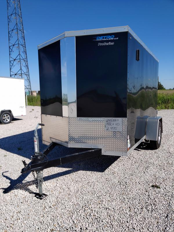 2019 Sure-Trac 6X10 Enclosed Double Rear Door Trailer