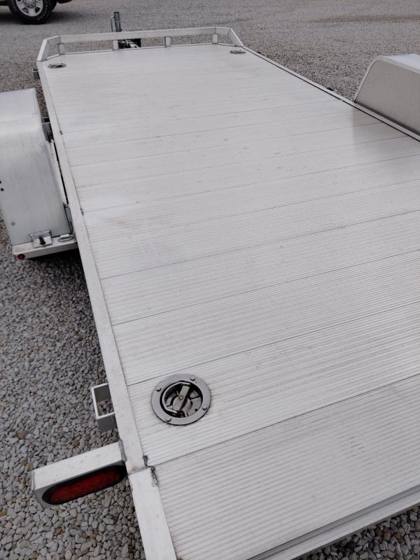 Gently Used 2020 Aluma 82X14 Tilt Deck 5K Trailer