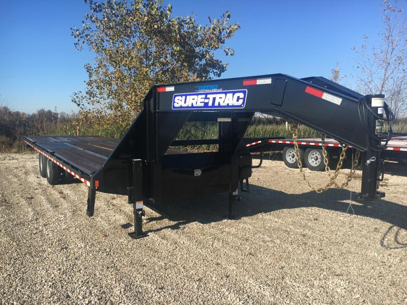 2019 Sure-Trac 8.5x20+10 LowPro Hyd Deckover Tandem GN
