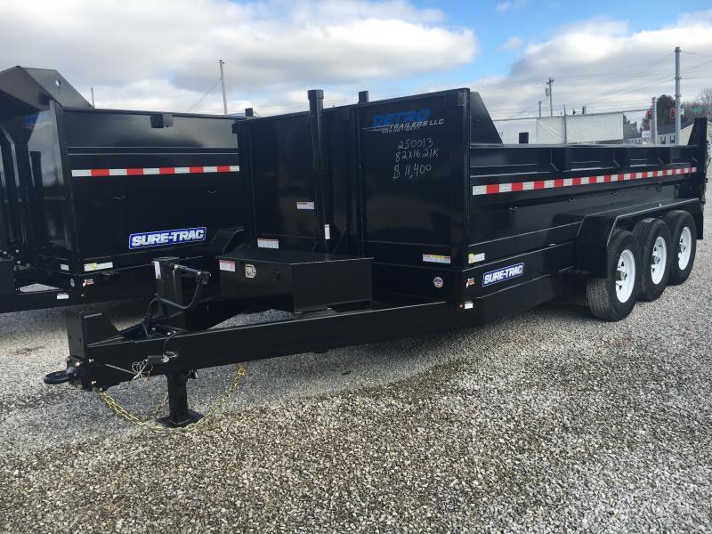 2019 Sure-Trac 82X16 21K Dump Trailer