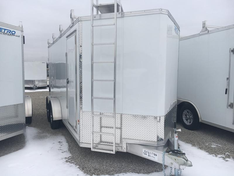 2019 E-Z Hauler 7X16 Enclosed Cargo Trailer