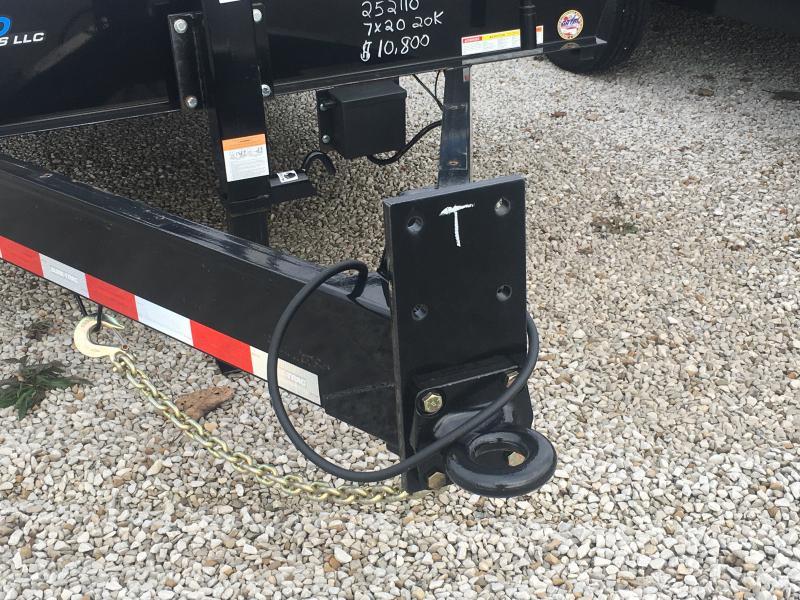 2019 Sure-Trac 7X20 Equipment Trailer 20K