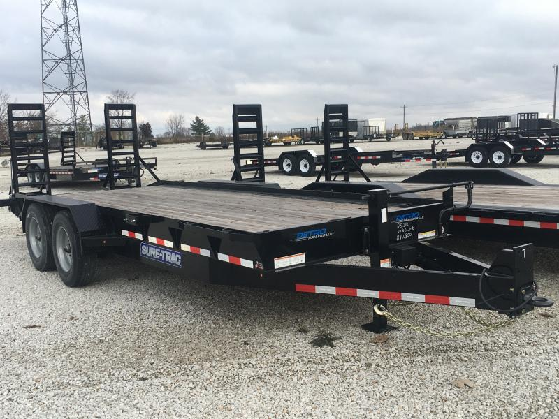 2019 Sure-Trac 7X20 Equipment Trailer 20K