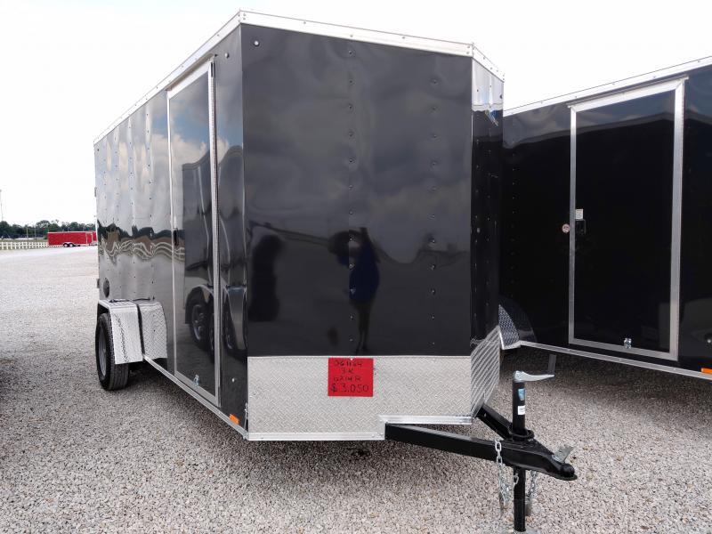 2021 Cargo Express 6X14 Enclosed SA Ramp Door Trailer