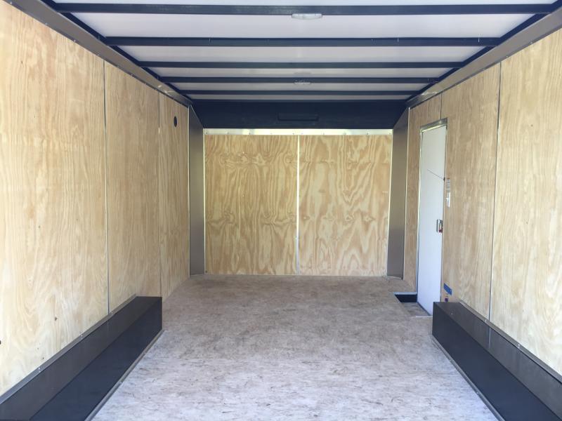 2018 Sure-Trac 8.5x16 Pro Series Bull Nose Cargo TA 7K