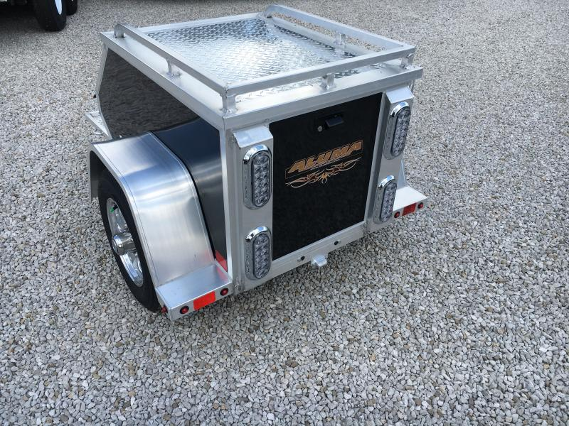 2020 Aluma MCT Motorcycle Trailer
