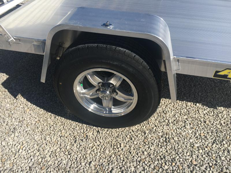 2020 Aluma 63X8 Straight Tailgate Utility Trailer