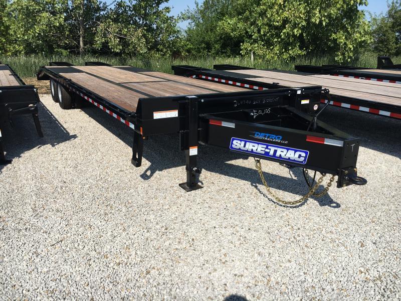 2019 Sure-Trac 8.5x25+5 LowPro Deckover Tandem BP 25.9K