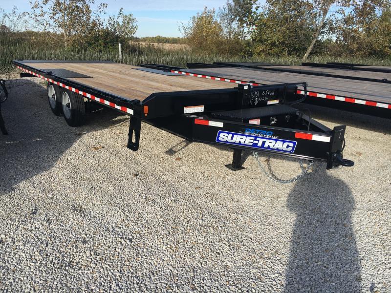 2020 Sure-Trac 102x22 Deckover Tilt Tandem BP 17.6K
