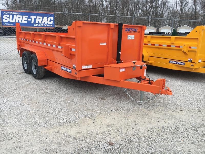 2020 Sure-Trac Orange 82 X 14 14K Telescopic Dump