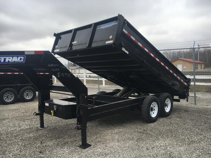 2020 Sure-Trac 96X14 14K GN Dump Trailer