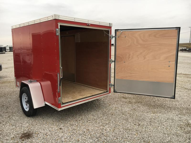 2019 United 5X8 Enclosed Swing Door Trailer