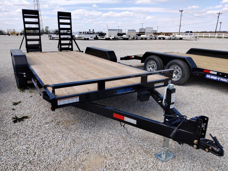 2020 Sure-Trac 7 x 16 Equipment Trailer  10K Flat Deck