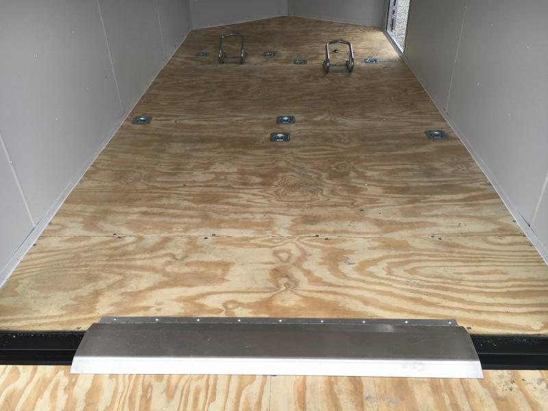 2020 United Trailers 7X14 Motorcycle Trailer