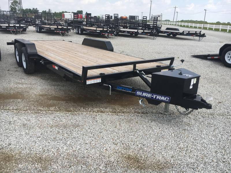 2019 Sure-Trac 7 x 20 Car Hauler Wood Power Tilt  10K