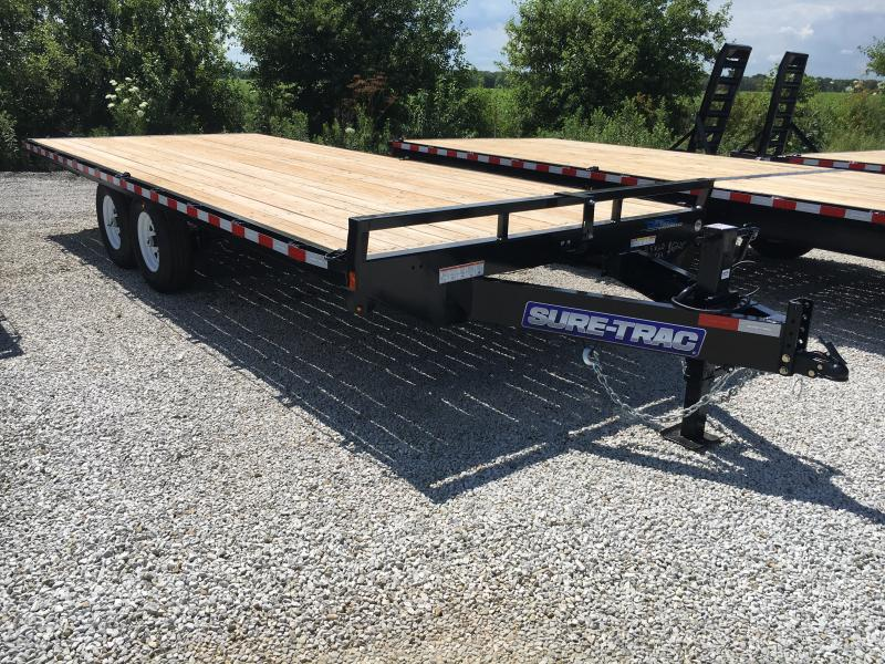 2019 Sure-Trac 8.5 X 20 Ft Standard Duty Flatbed Deckover