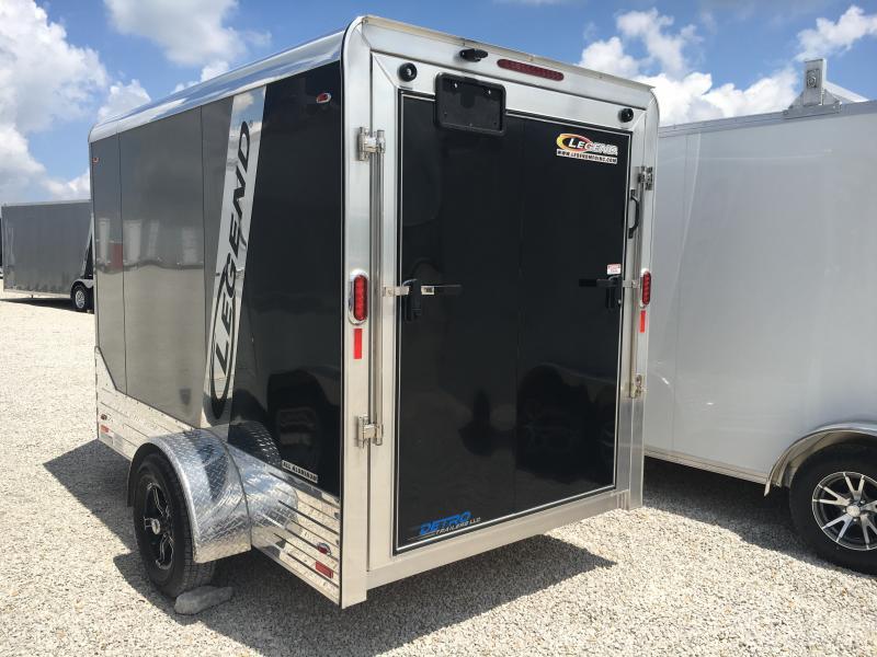 2019 Legend Manufacturing 6X13 Enclosed Cargo Trailer
