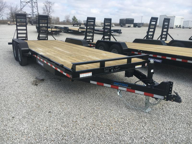 2020 Sure-Trac 7 x 22  Equipment Trailer  14K