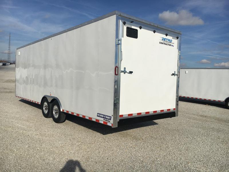 2020 Sure-Trac 8.5 x 26 Contractor Pro BN Cargo TA 14K