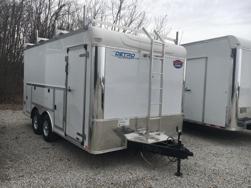 2020 United Trailers 8.5X16 Enclosed Cargo Trailer