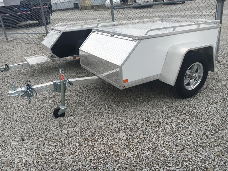 2020 Aluma 4X6 Enclosed Cargo Motorcycle Trailer