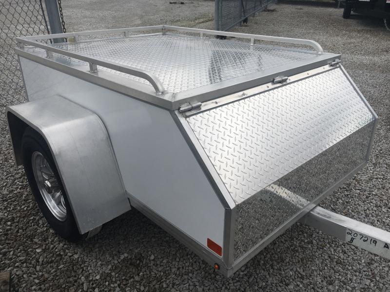 2020 Aluma 4X6 Enclosed Cargo Motorcycle Trailer
