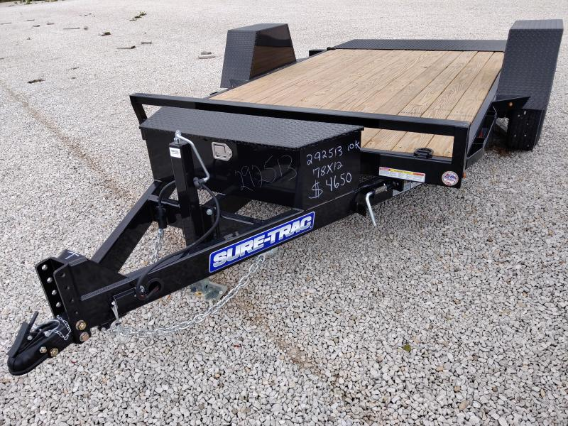 2020 Sure-Trac 78 x 12 Tilt Bed Equipment  10K
