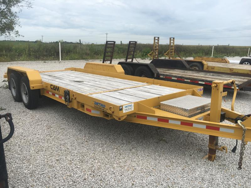 Used 2017 Cam Superline 81X15+4 Equipment Trailer