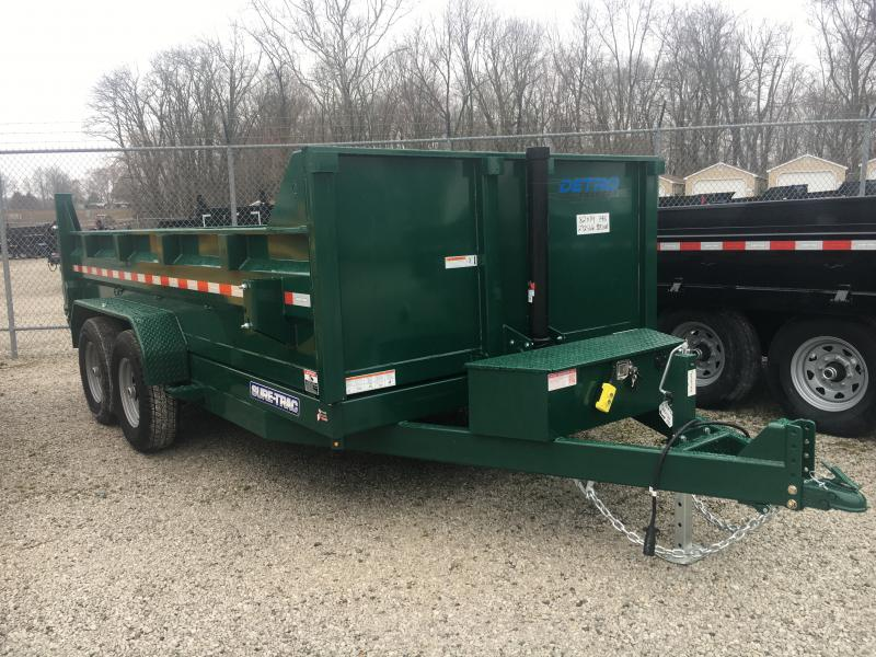 2020 Sure-Trac Forest Green 82X14 14K Telescopic Dump
