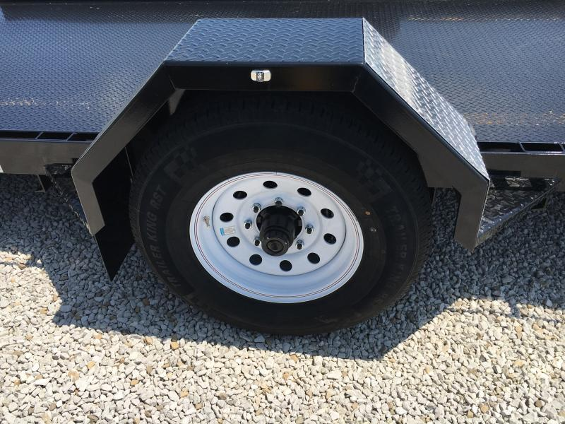 2019 Imperial 14FT Single Axle Lowboy Utility Trailer