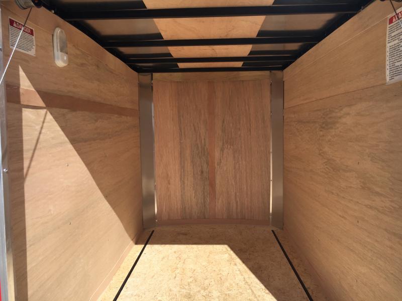 2020 United 5X8 Enclosed Ramp Door Trailer