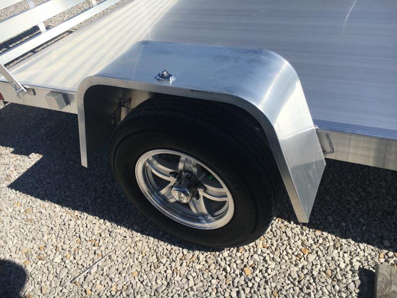 2020 Aluma 63X10 Straight Tailgate Utility Trailer