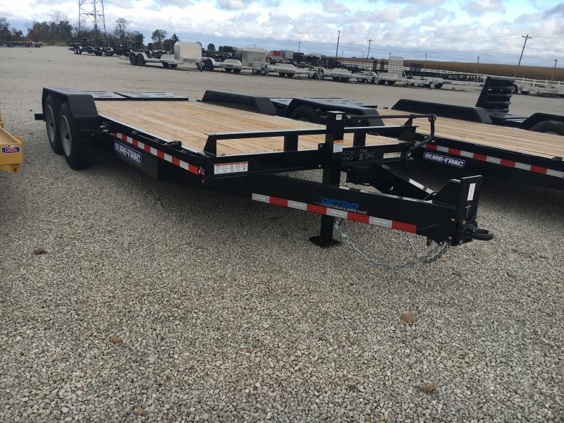 2020 Sure-Trac 7 x 15+3 Equipment HD Univ Ramp  16K