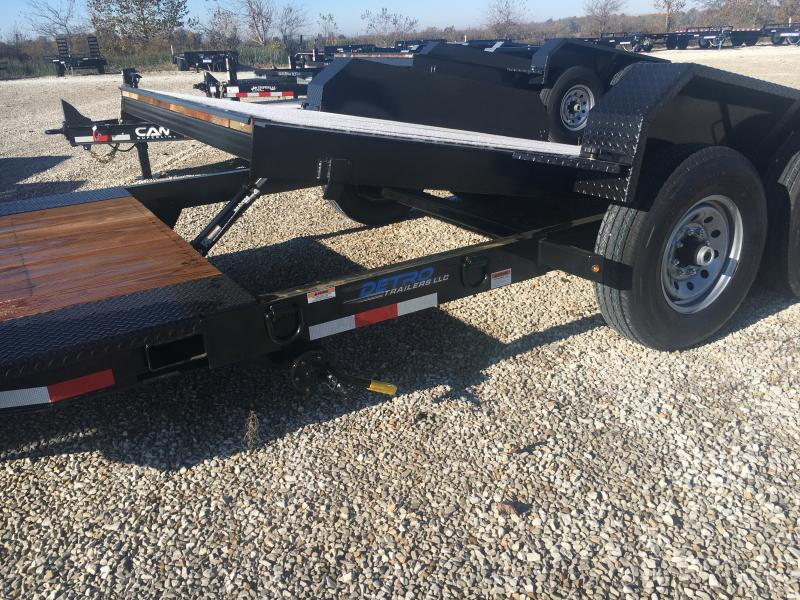 2019 Cam Superline 82X15 + 4 Equipment Trailer 16K
