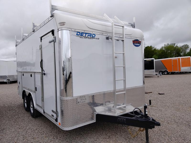 2020 United Trailers 8.5X16 Car / Racing Trailer