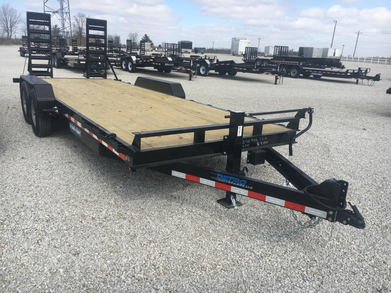 2020 Sure-Trac 7 x 20 Equipment Trailer  14K Flat Deck