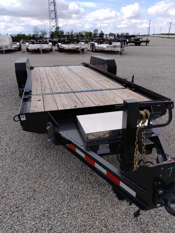 2019 Cam Superline 8.5X15+4 Split Tilt Equipment Trailer