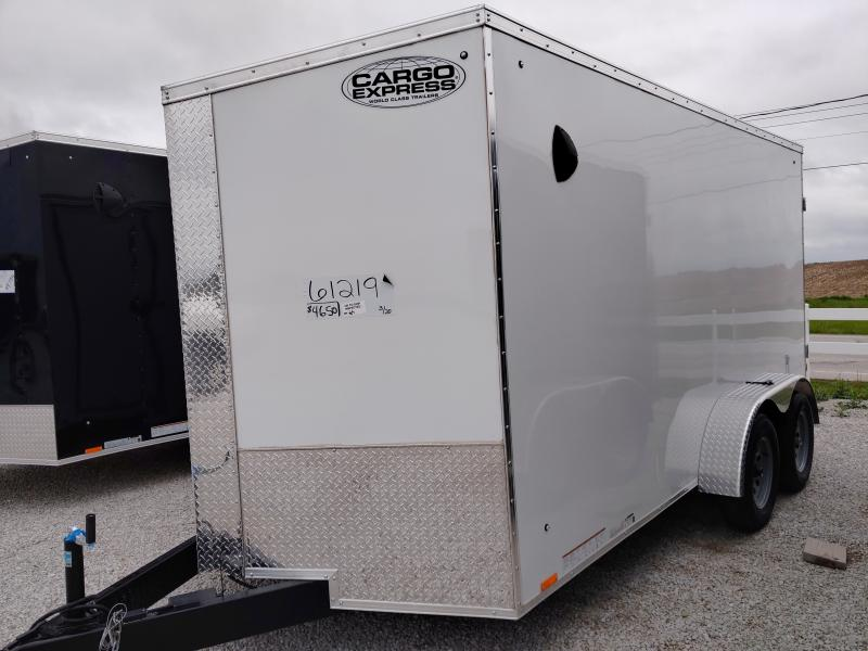 2021 Cargo Express 7X14 Enclosed DRD TA Trailer