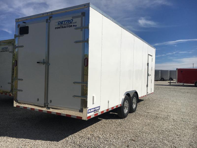 2020 Sure-Trac 8.5 x 22 Contractor Pro BN Cargo TA 14K