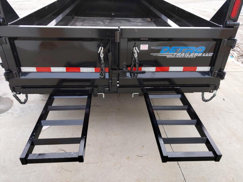 2020 Sure-Trac 82 IN X 12 Low Profile Scissor Dump 12K