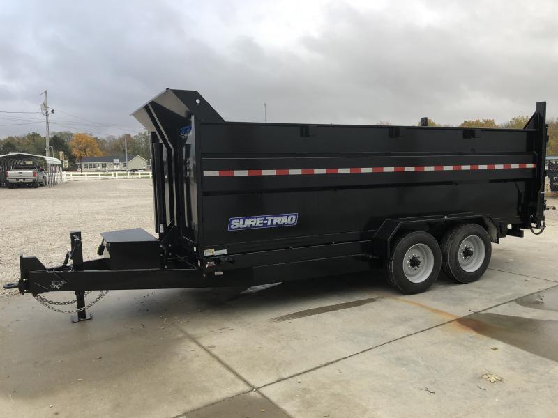 2019 Sure-Trac 82 IN X 16 LP 16K Telescopic Dump
