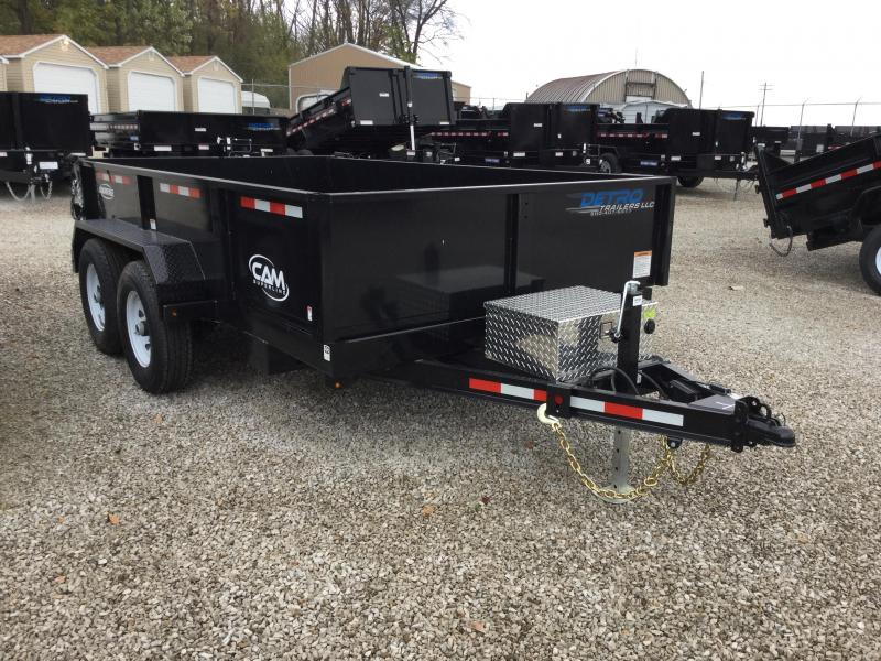 2017 Cam Superline Advantage 6X12 Low Profile HD Dump Dump Trailer
