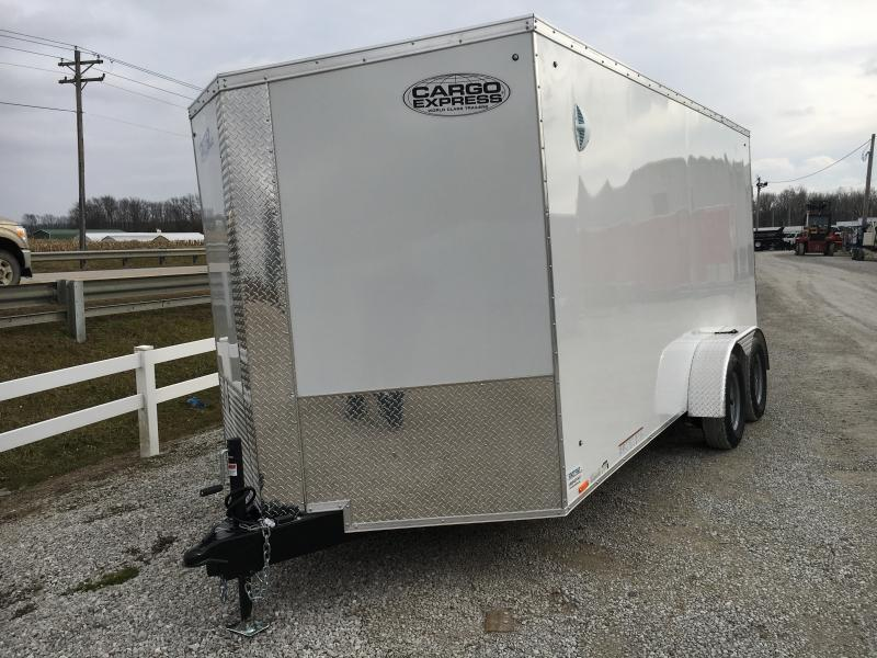 2021 Cargo Express 7X16 Enclosed Cargo Trailer
